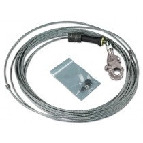 DBI-SALA® FAST-Line™ Stainless Steel Cable Assembly with Hook, 130' (#3900114)