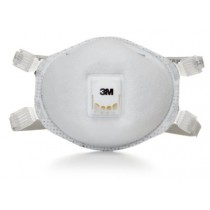 3M™ Particulate Respirator 8214, N95 with Nuisance Level Organic Vapor Relief
