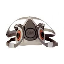 3M™ Half Facepiece Reusable Respirator, small (#6100)
