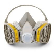 3M™ Half Facepiece Disposable Respirator Assembly (organic vapor/acid gas, medium) (#5203)