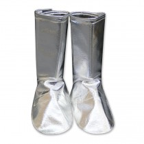 Aluminized Carbon Kevlar® Full Vertical Velcro Leggings (#401-ACK)