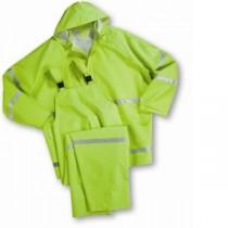 Lime 35mil PVC Class 1 Rainsuit (#4031)