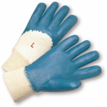 Palm Coated Jersey Lined Nitrile Knit Wrist (#4050)