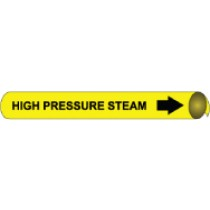 High Pressure Steam Precoiled Pipe Marker (#4059N)