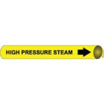 High Pressure Steam Precoiled Pipe Marker (#4059N)