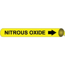 Nitrous Oxide Precoiled Pipe Marker (#4075N)