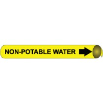 Non-Potable Water Precoiled Pipe Marker (#4076N)