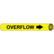 Overflow Precoiled Pipe Marker (#4078N)