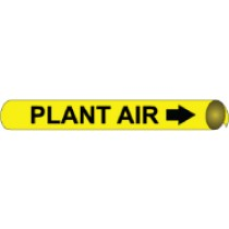 Plant Air Precoiled Pipe Marker (#4081N)