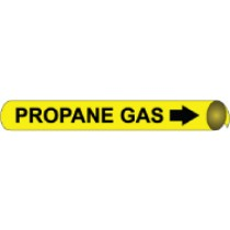Propane Gas Precoiled Pipe Marker (#4086N)
