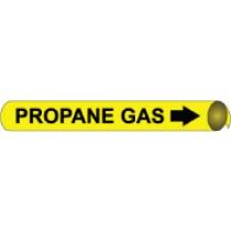 Propane Gas Precoiled Pipe Marker (#4086N)