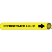 Refrigerated Liquid Precoiled Pipe Marker (#4089N)