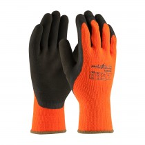 PowerGrab™ Thermo Hi-Vis Seamless Knit Acrylic Terry Glove with Latex MicroFinish Grip on Palm & Fingers  (#41-1400)