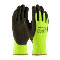 PowerGrab™ Thermo Hi-Vis Seamless Knit Acrylic Terry Glove with Latex MicroFinish Grip on Palm & Fingers  (#41-1405)