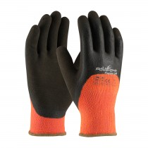 PowerGrab™ Thermo 3/4 Hi-Vis Seamless Knit Acrylic Terry Glove with Latex MicroFinish Grip on Palm, Fingers & Knuckles  (#41-1475)
