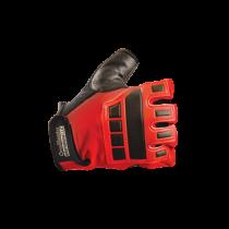 Premium Embossed Back Gel Anti-Vibration Gloves (#425)