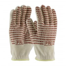 PIP® Double-Layered Cotton Seamless Knit Hot Mill Glove with Double-Sided EverGrip™ Nitrile Coating - 24 oz  (#43-502)