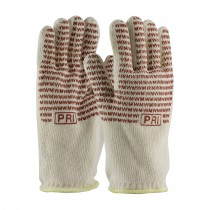PIP® Double-Layered Cotton Seamless Knit Hot Mill Glove with Double-Sided EverGrip™ Nitrile Coating - 32 oz  (#43-802)