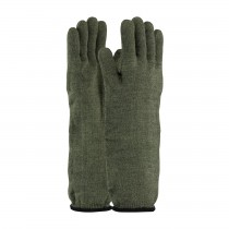Kut Gard® Kevlar® / Preox Seamless Knit Hot Mill Glove with Cotton Liner - Extended Cuff  (#43-858)
