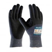 MaxiCut® Ultra™ Seamless Knit Engineered Yarn Glove with Premium Nitrile Coated MicroFoam Grip on Palm, Fingers & Knuckles (#44-3755)