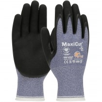MaxiCut® Oil Seamless Knit Engineered Yarn Glove with Nitrile Coated MicroFoam Grip on Palm & Fingers  (#44-504)