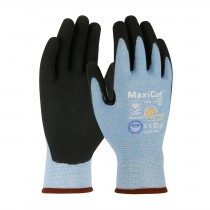 MaxiCut® Ultra™ Seamless Knit Dyneema® Diamond Blended Glove with Premium Nitrile Coated MicroFoam Grip on Palm & Fingers (#44-6745)