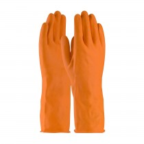 Assurance® Unsupported Latex, Industrial Flock Lined with Honeycomb Grip - 28 Mil  (#48-L302T)