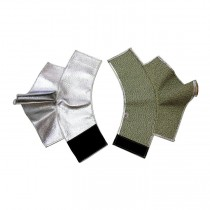 "7"" Aluminized Carbon Kevlar® Spats (#485-ACK)"