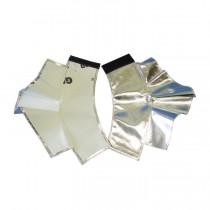 """7"""" Aluminized Rayon Spats (#485-AR)"""