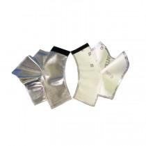 """7"""" Aluminized Rayon Heavy Spats (#485-ARH)"""