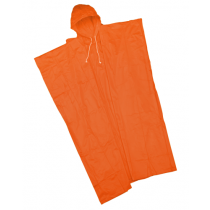 "Poncho 10mil 52"" x 80"", Orange (#49102/O)"