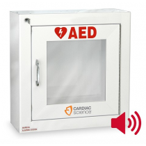 AED Wall Cabinet: Surface Mount with Alarm, Security Enabled (#50-00392-20)