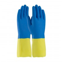 Assurance® Unsupported Neoprene/Latex, Flock Lined with Raised Diamond Grip - 19 Mil  (#52-3672)