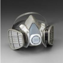 3M™ Half Facepiece Disposable Respirator Assembly (organic vapor, medium) (#5201)