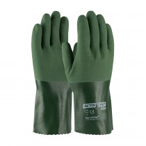 "ActivGrip™ Nitrile Coated Glove with Cotton Liner and MicroFinish Grip - 12""  (#56-AG566)"
