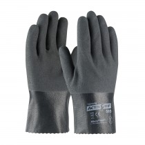 "ActivGrip™ Nitrile Coated Glove with Cotton Liner and MicroFinish Grip - 10""  (#56-AG585)"