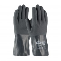"ActivGrip™ Nitrile Coated Glove with Cotton Liner and MicroFinish Grip - 12""  (#56-AG586)"