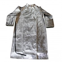 "19oz. Aluminized Para Aramid Blend 50"" Open Back Coat (#564-AKV-50)"