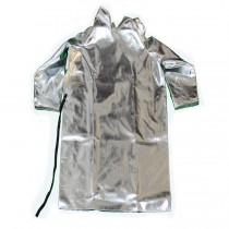 "15oz. Aluminized Rayon 40"" Open Back Coat (#564-AR-40)"
