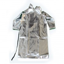 "15oz. Aluminized Rayon 50"" Open Back Coat (#564-AR-50)"