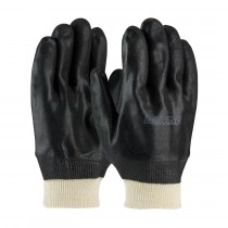 ProCoat® PVC Dipped Glove with Interlock Liner and Sandy Finish - Knitwrist  (#58-8115DD)