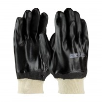 ProCoat® PVC Dipped Glove with Jersey Liner and Sandy Finish - Knitwrist  (#58-8215DD)