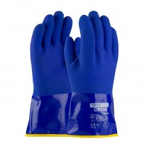 """ProCoat® Cold Resistant PVC Glove with Detachable Terry Liner and Sandy Finish - 12""""  (#58-8658DL)"""