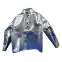 """19oz. Aluminized Para Aramid Blend 30"""" Jacket (#600-AKV)"""