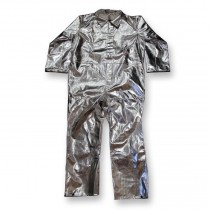 15oz. Aluminized Rayon Coverall (#605-AR)