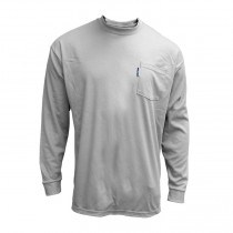 FR Treated Cotton Interlock Long Sleeve Shirt (#610-FRC-LS)
