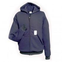 Ultra Soft Fleece Full Zip Hooded Sweatshirt (#615-USFN)