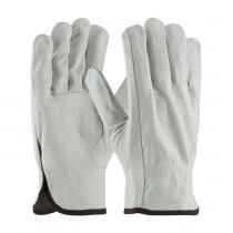 PIP® Regular Grade Top Grain Cowhide Leather Drivers Glove - Keystone Thumb  (#68-163)