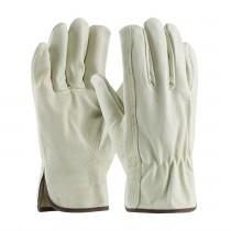 PIP® Premium Grade Top Grain Pigskin Leather Drivers Glove - Keystone Thumb  (#70-368)