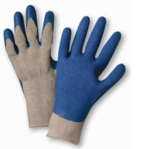 PosiGrip® Seamless Knit Polyester Glove with Latex Coated Crinkle Grip on Palm & Fingers - Regular Grade  (#700SLC)